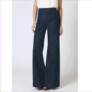 Cartonnier High Waisted Wide Leg Jeans Size 6
